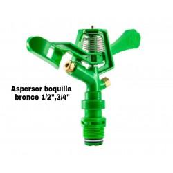 """Aspersor Boquilla Bronce de 1/2"""" - 3/4"""""""